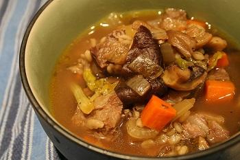 Грибной суп рецепты с мясом