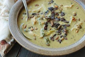 суп с сушеными грибами как варить