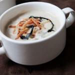Грибной крем-суп с беконом