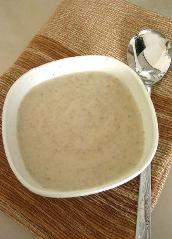 суп крем суп грибной рецепт с фото