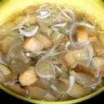 Белые грибы с луком заготовка на зиму