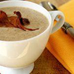 Грибной крем-суп из лисичек