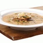 Грибной суп из свежих маслят и плавленого сыра