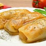 Вегетарианские голубцы с гречкой