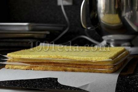торт добош пошаговый рецепт с фото