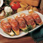 Голубцы из кабачков с мясной начинкой