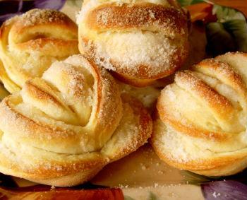 булочки домашние сладкие рецепты с фото