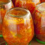 Лечо из болгарского перца с чили и сушеной паприкой на зиму