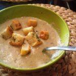 Грибной суп-пюре из маслят