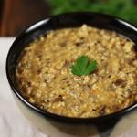 Грибной суп из сушеных грибов с пшеном