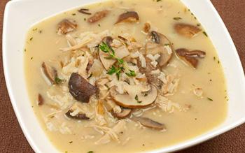 Грибной суп рецепт из белых грибов с курицей