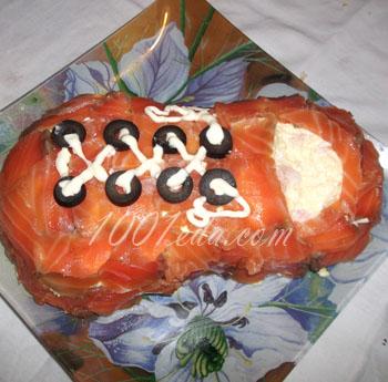 Салат Башмачок с креветками: рецепт с пошаговым фото