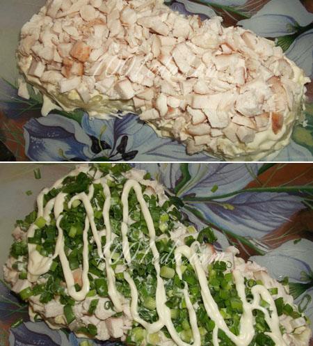 Салат-коктейль с креветками, пошаговый рецепт с фото