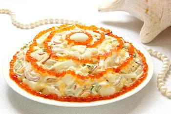 ( Рецепт салата Морская жемчужина
