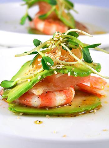Королевский салат рецепт из креветок