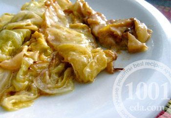 Рецепт капусты с картошкой и мясом в мультиварке