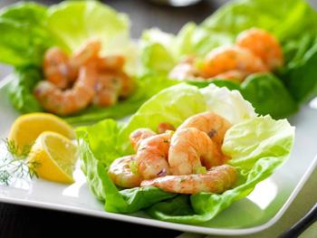 Диетический салат с креветками рецепты с фото