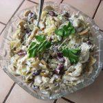 Быстрый салат Куриный с фасолью