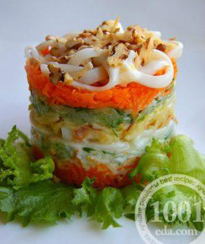 Настоящие корейские салаты из капусты