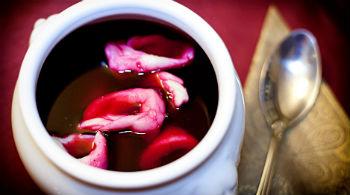 Постный борщ с кальмарами – кулинарный рецепт