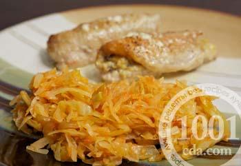 рецепты приготовления тушеной капусты с мясом и картошкой