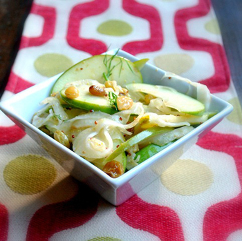 Капуста салат с изюмом