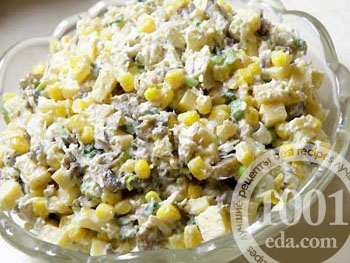 салат из шпротов рецепт