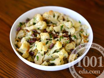 как приготовить салат из цветной капусты рецепты