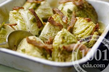 Рецепт тушеной капусты с сушеными грибами - Тушеная капуста от 1001 ЕДА