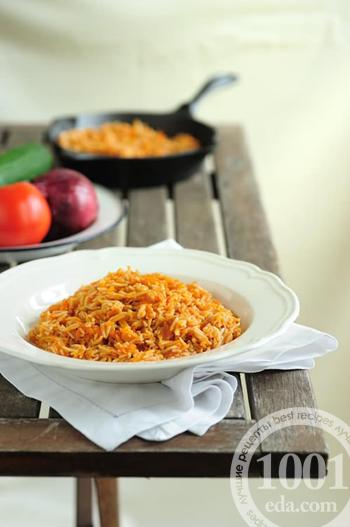 рецепт плову с томатной пастой