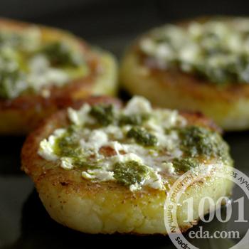 Вегетарианские котлеты из картофеля