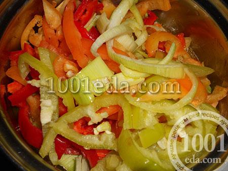 Тушеный перец рецепт пошагово