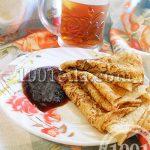 Блины на ряженке: рецепт с пошаговым фото