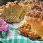 Сдобный хлеб-каравай: рецепт с пошаговым фото