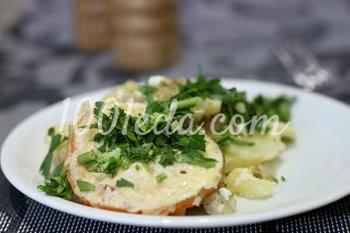 Рецепт рыбы со сметаной в мультиварке - Рыба в мультиварке от ЕДА