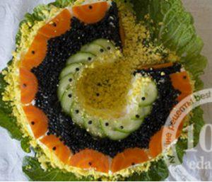 Салат Мимоза На счастье: рецепт с пошаговым фото