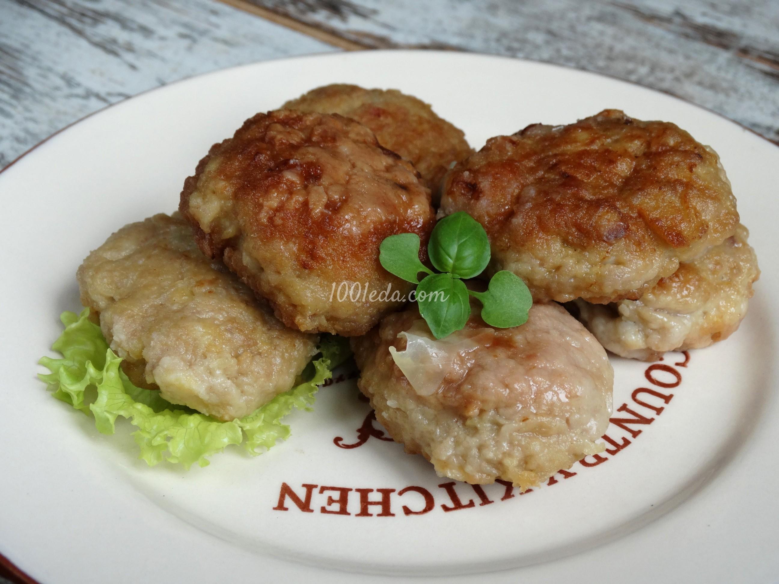 Рецепт мясных котлет 30