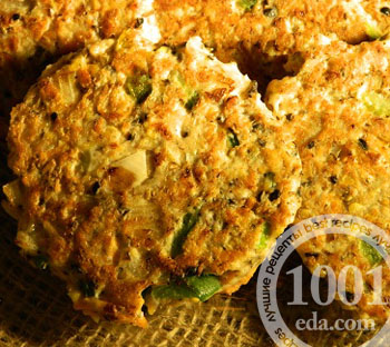 Рецепт индюшиных котлет с кукурузой