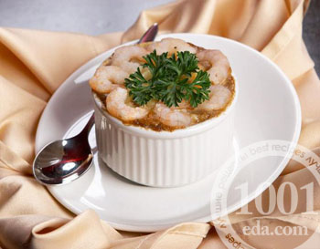 Лингвини с кальмарами и креветками, пошаговый рецепт с фото