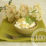 Салат из цветной капусты и кукурузы