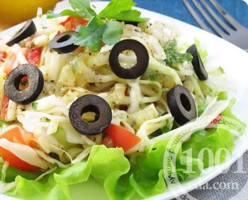салат из капусты с помидорами огурцами рецепт
