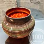 Красный борщ в духовке в горшочке