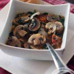 Грибной суп с ячменем и гречкой