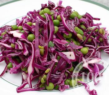 салат из. красной капусты