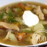Суп грибовница (грибница) из рыжиков