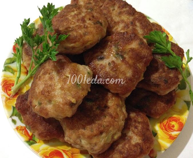 Котлеты свино говяжьи рецепт с фото