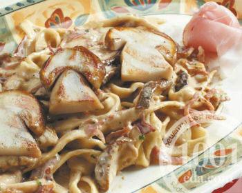 рецепты с пастой с белыми грибами и укропом