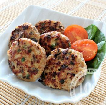 Рецепт вкусных котлет из говядины с курицей