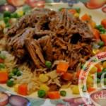 Свинина в медленноварке рассыпчатая: рецепт с пошаговым фото