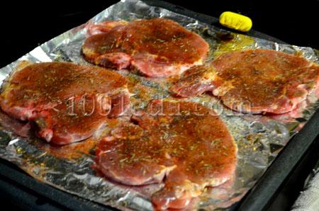 рецепт отбивная корейка свиная